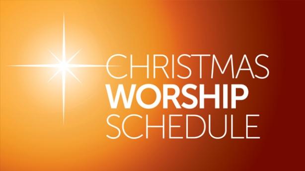 christmasworshipschedule